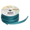 Flat Leather 10x2mm (5m Spool) Metallic Turquoise